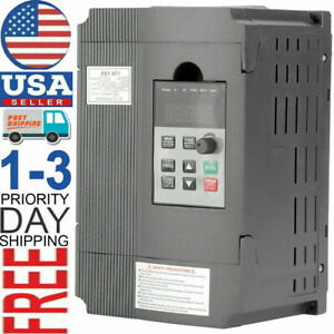 3 phase 8a 1 5kw 220v Variable Frequency Drive Inverter Vfd Single To 3 Phase