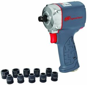 Ingersoll Rand 35maxks 12 Ultra Compact Impact Wrench Kit With Sockets