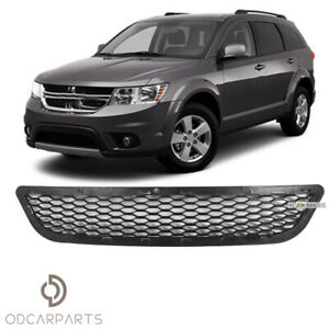 Fit Dodge Journey 2011 2017 Front Bumper Lower Grille Grill Replacement Black