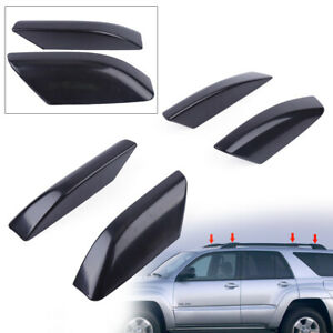 Black Truck Parts Roof Rack Rail End Cover For Toyota 4runner N210 2003 2009 New