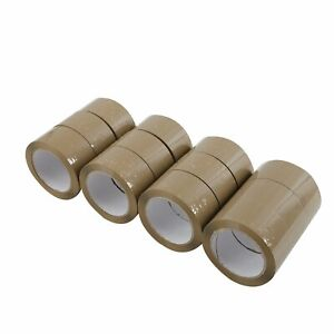36 Rolls 2 Mil 2 x110 Yards 330 Ft Box Carton Sealing Packing Package Tape