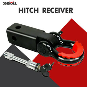 X bull 2 Universal Trailer Shackle 5t Hitch Receiver With 3 4 D Ring Shackle
