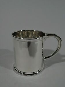 Je Caldwell Mug 863 Antique Christening Baby Cup American Sterling Silver