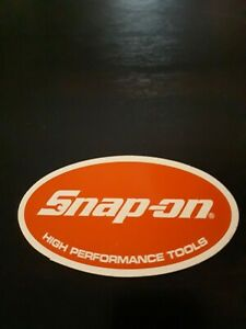 Snapon Tools Official Oval High Performance Logo Decal Sticker New