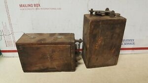 Antique Ford Model T Or Model A Wood Ignition Coils X2 Early 1900 s