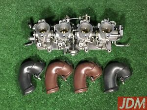 Toyota 4age 20valve Individual Throttle Bodies Itbs 4a ge Silver Top 22210 16621