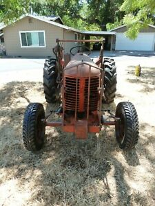 Case Va Vao Vintage Tractor Antique 1950s ish Runs And Drives Well