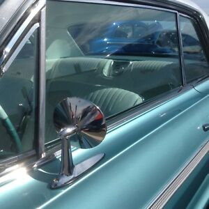 1964 Chevrolet Chevy Impala Ss Bel Air Biscayne Wagon Door Mirrors Pair 2