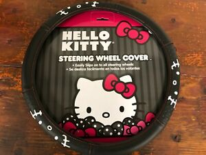 Auto Steering Wheel Cover Hello Kitty Universal Fit 14 5 15 5 Car