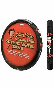 Steering Wheel Cover Betty Boop Universal Fit 14 5 15 5 Car