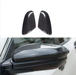 Carbon Fiber Look Side Mirror Cover Cover Trim For Honda Civic 10th Gen 16 2020