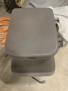 2002 2009 Dodge Ram 3rd Gen 1500 2500 3500 Center Console Jump Seat Taupe