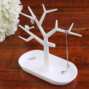 Jewelry Necklace Ring Earring Tree Stand Display Organizer Holder Rack Kw