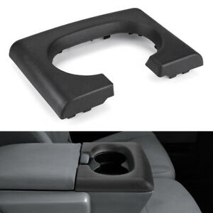 Center Console Cup Holder Armrest Replacement Black Fits Ford F150 2004 2014