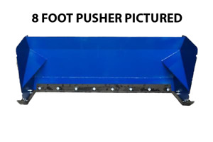 10 Snow Pusher Box Skid Steer Attachment