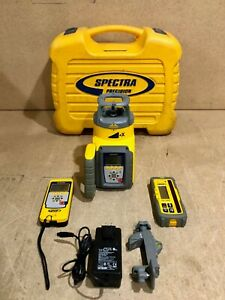 Spectra Precision Gl612n Rotary Grade Laser Level W Remote Control Receiver