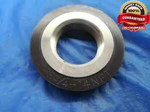 3 4 14 Npt L1 Pipe Thread Ring Gage 75 3 4 14 Quality Inspection N p t L 1
