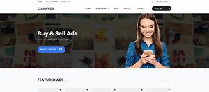 Fully Responsive Classified Ads Website