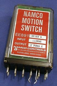 Namco Motion Switch Ee891 32103 A 115v 1 Form C For Socket Ee012 50004 Relay