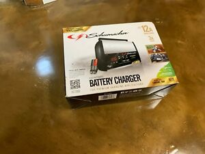 Schumacher Sc1393 12a 6 12v Battery Charger Highest Industry Standards Auto Car
