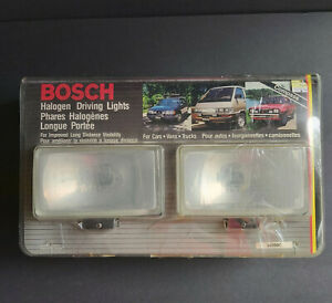 Brand New Old Stock Universal Bosch Halogen Driving Lights 23350c