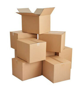 14x10x6 Cardboard Corrugated Box Packing Mailing Shipping Moving Cartons 10 200