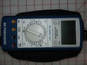 Bk 391a Test Bench Dmm Multimeter 4 5 Digit Tested Excellent Condition W Case