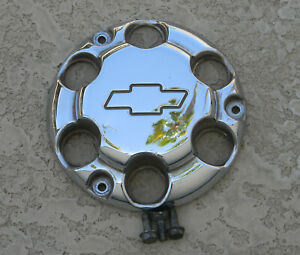 Chevy Tahoe Ppv Center Hub Cap Police Chrome 07 15 9597673