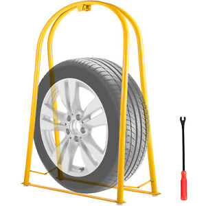 Tire Inflation Cage Tire Cage 2 bar Car Tire Inflation Tool With A Tire Changer