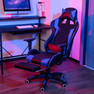 Executive Office Chair Recliner Swivel Gaming Computer Desk Chairs Leather Seat