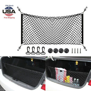 Rear Cargo Trunk Storage Organizer Net Car Accessories Envelope Style Cargo Net