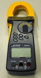 Nice Extech 380926 2000a True Rms With Ac dc Current Clamp Multimeter