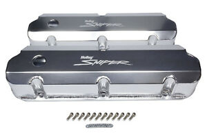 Holley Sniper Fabricated Valve Covers Sbf Tall P n 890011