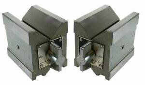Magnetic Vee Block 4 V Blocks Pair Heavy Precision Size 100 X 95 X 75 Mm Heavy