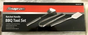 New Snap On Tools Ratchet Handle Bbq Tool Set Ssx20p109
