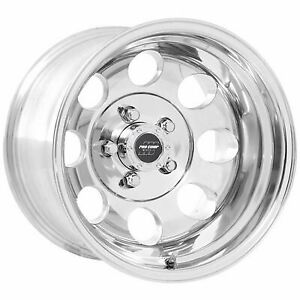 Pro Comp 69 Series Vintage 17x9 Wheel With 5 On 5 5 Bolt Pattern Polished