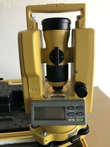 Topcon Digital Theodolites Dt 200 Series dt 207 With Dual Display