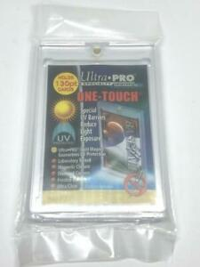 1 Ultra pro One touch Magnetic 130pt Uv Protected Card Holders As Picture In