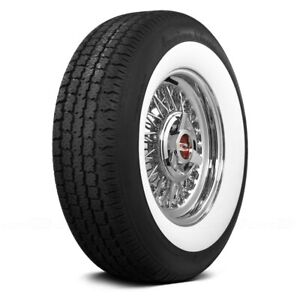 Coker Set Of 4 Tires P235 70r16 S American Classic 2 3 8 Inch Whitewall