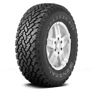 General Set Of 4 Tires 265 70r16 S Grabber At2 All Terrain Off Road Mud