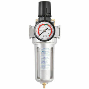 Ironmax Sfr300 3 8 Air Pressure Regulator Filter Water Separator Pressure Gauge