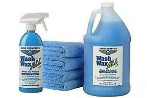 Wet Or Waterless Car Wash Wax Kit 144 Ounces Aircraft Quality For Your Car Rv