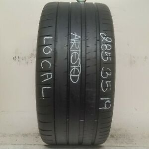 No Shipping Only Local Pick Up 1 Tire 285 35 19 Michelin Pilot Super Sport Zp