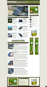 Solar Water Heating Tips Website With New Domain And Affiliate Options
