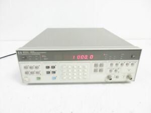 Hp 3325b 21 Mhz Synthesizer Function Generator Agilent