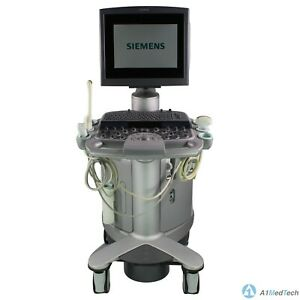 Siemens Acuson S2000 Ultrasound System Vc25e With 6c2 Ec9 4 And 4v1 Probes