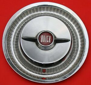 1955 Buick Roadmaster Wheel Cover With Two Bar Spinner