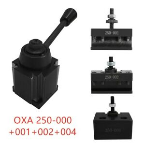 Oxa Wedge Type 250 000 Tool Post Plus 001 002 004 Holder For Mini Lathe Up To 8