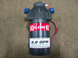 2 2 Gpm 12v 70psi Diaphragm Pump With Filtration System