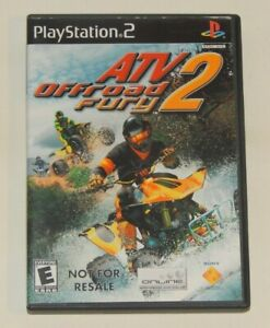 ATV Offroad Fury 2 - PlayStation 2 PS2 Complete CIB Tested Working